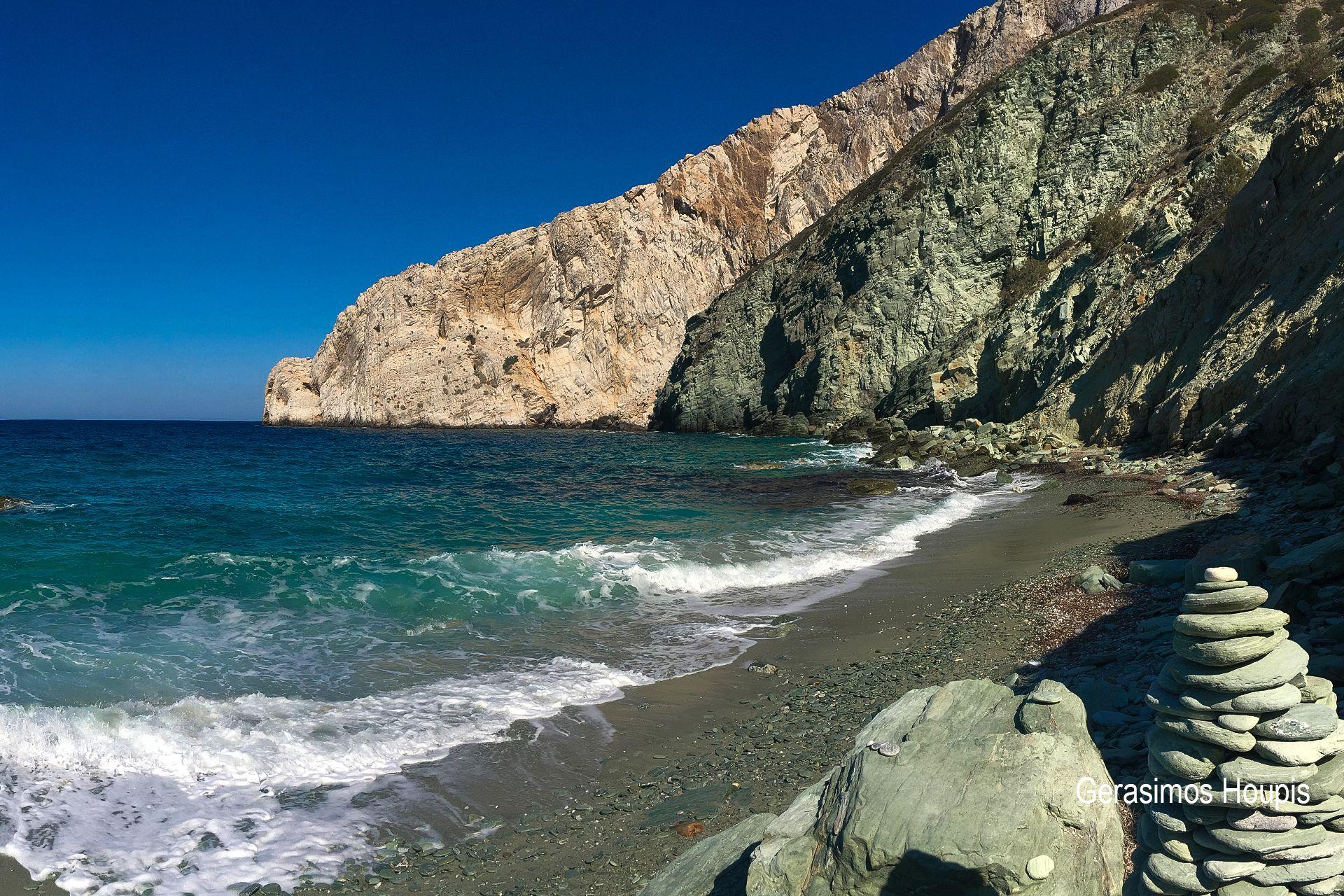Voreina beach, Folegandros