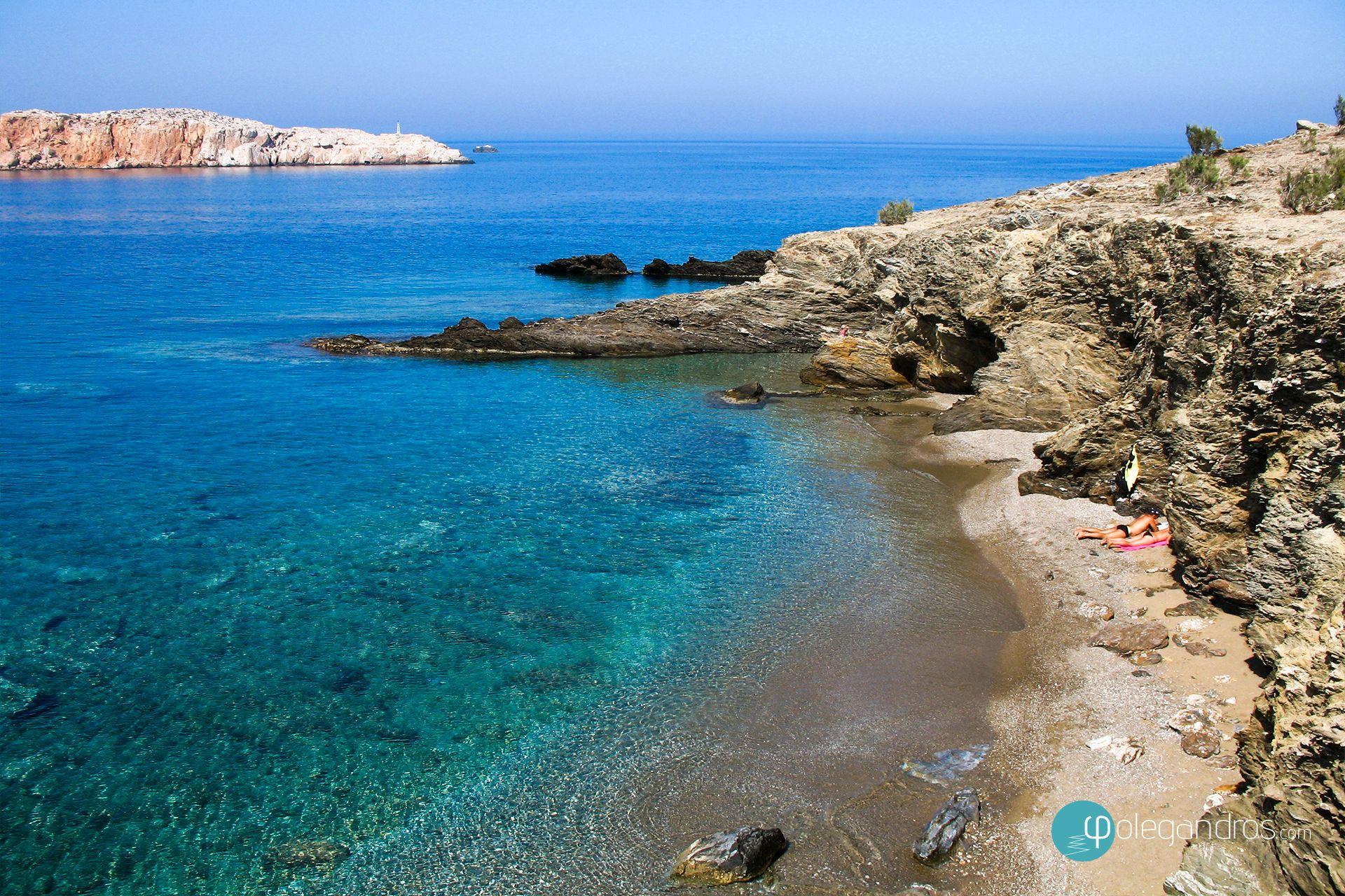 Latinaki beach, Folegandros