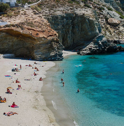 Folegandros beaches