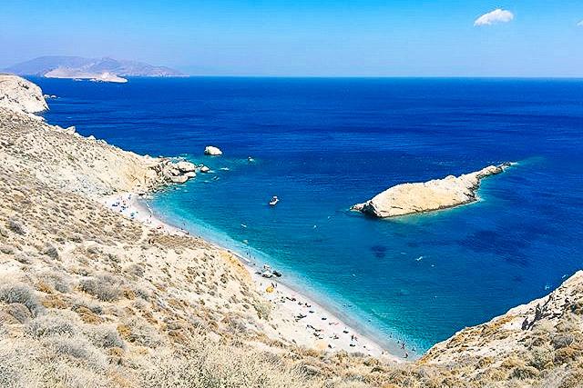 Παραλία Κάτεργο, Φολέγανδρος